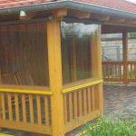 osłony na altanki chroniące przed deszczem, wiatrem i chłodem